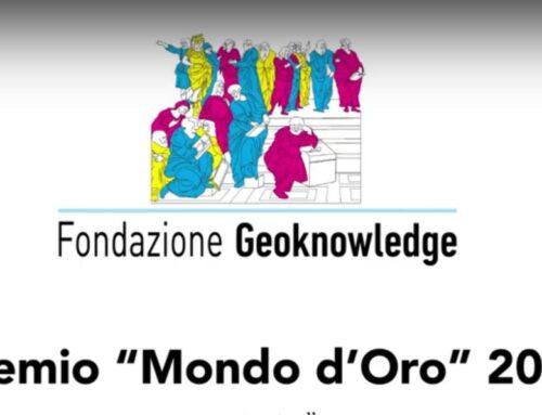La Geoknowledge Foundation assegna il Premio Mondo d'Oro 2021